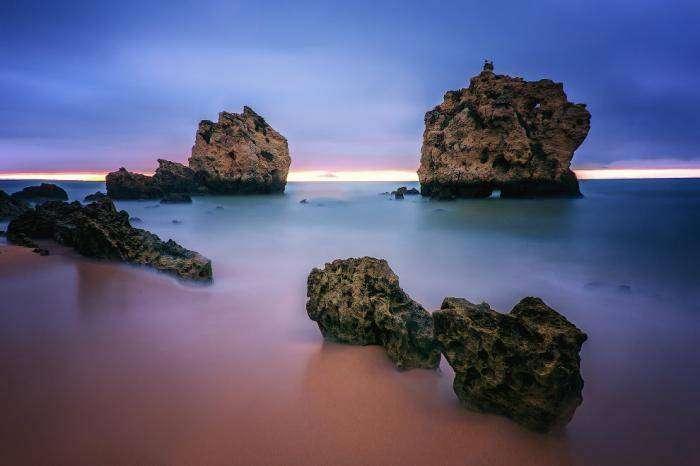 Португалия: солнечный Алгарве или серых туч океан (23 фото)
