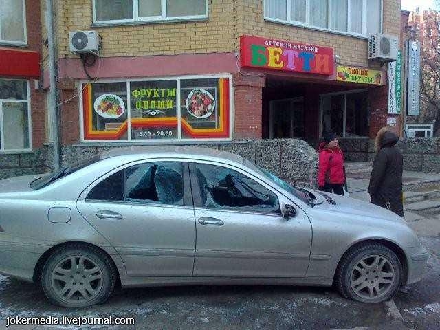 Не паркуйся на тротуаре (3 фото)