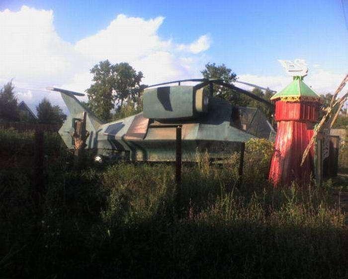 Челябинские дачи настолько суровы (5 фото)