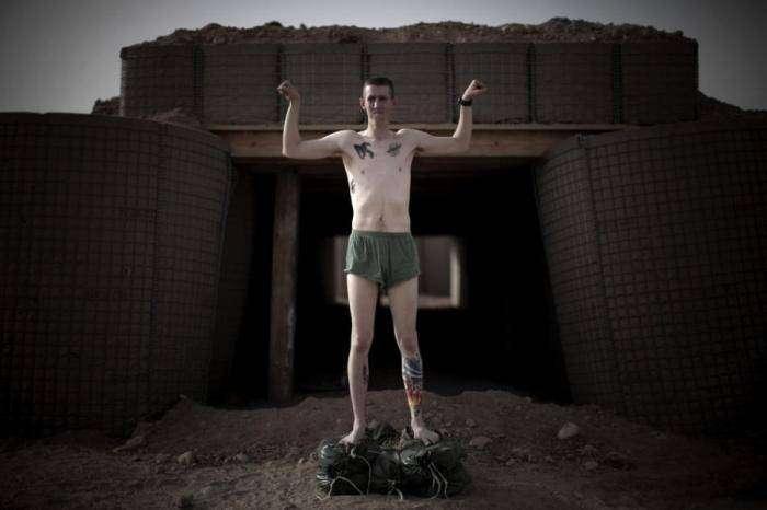 Татуировки американских морских пехотинцев (16 фото)