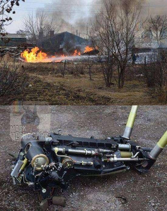 В Приморье упал штурмовик Су-25 (5 фото)
