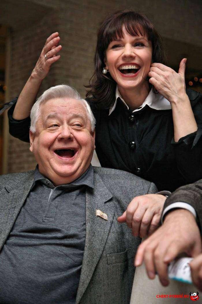 неравный брак Олега Табакова и Марины Зудиной