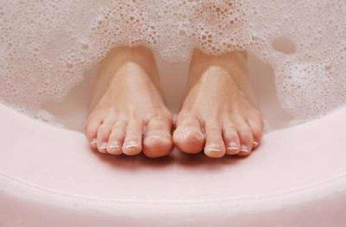 Лечим грибок ног