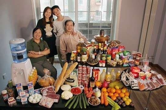 Что едят люди (15 фото)