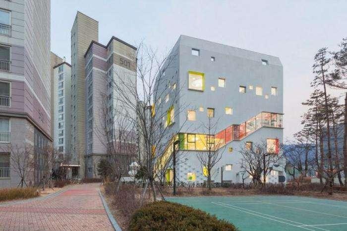 Красочный детский сад в Южной Корее (21 фото)