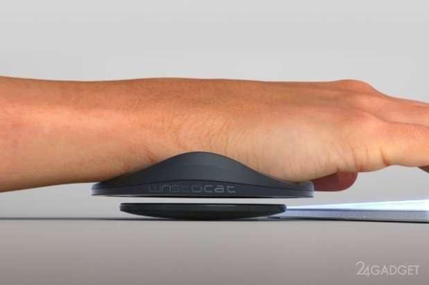 Левитирующая подставка для руки (4 фото)