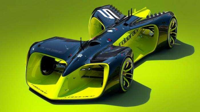 Roborace - соревнования беспилотных машин (5 фото + 1 видео)