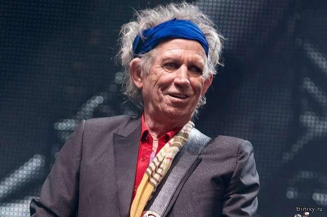 Гитарист The Rolling Stones Кит Ричардс предложит Юрию Лозе сыграть вместе (2 фото)