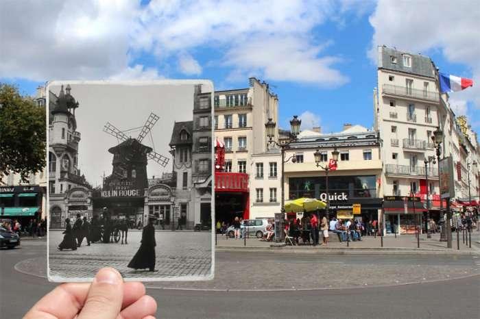 Винтажный Париж внутри современного (16 фото)