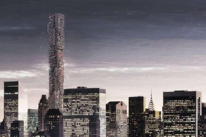 «Улей» - небоскреб для беспилотников (6 фото)