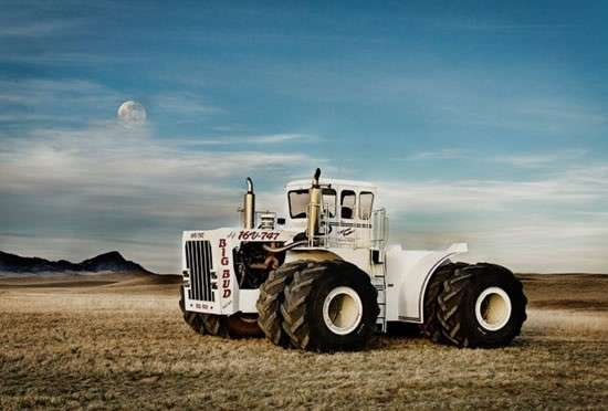 Трактор для мужиков (8 фото)