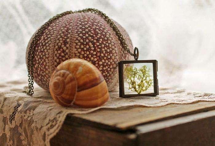 Замечательные украшения с кусочком природы (20 фото)