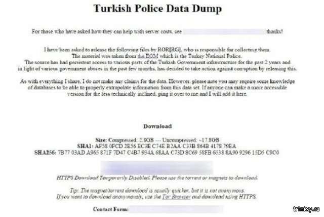 В сеть попали личные данные 50 миллионов граждан Турции (3 фото)