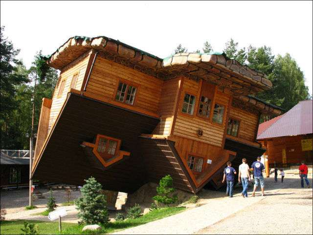 Перевернутый дом (12 фото)