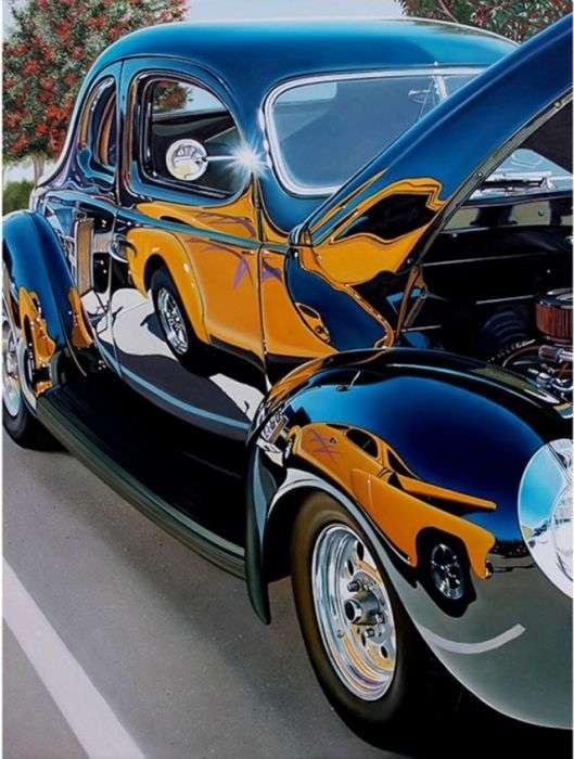 Невероятно реалистичные рисунки автомобилей (25 фото)
