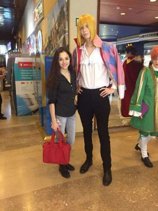 Российская фигуристка Евгения Медведева стала звездой Японии (17 фото)