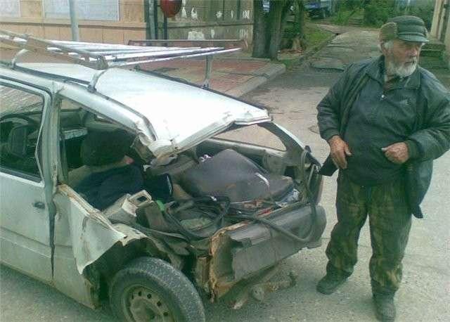 Дед едет в Краснодар (6 фото)