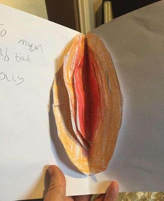 Забавная пасхальная открытке маме (2 фото)