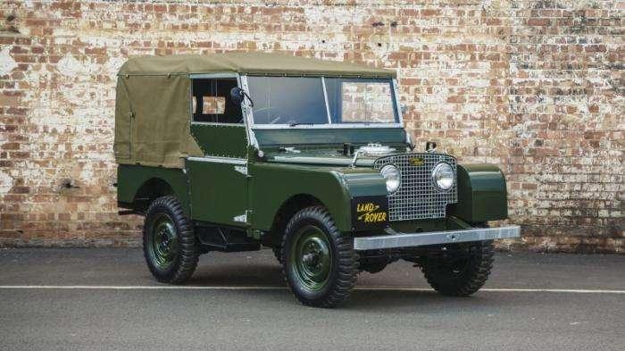 Land Rover выпустит партию первых Defender образца 1948 года (6 фото)