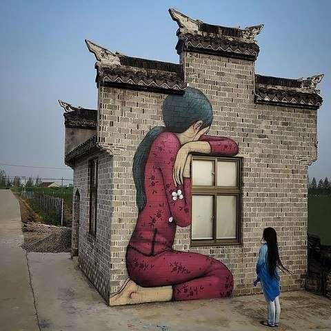 Стрит-арт от уличного художника Жюльен Малланд (5 фото)