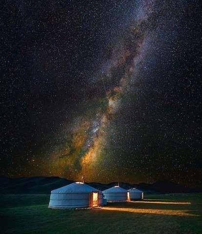 Фантастические снимки млечного пути (6 фото)
