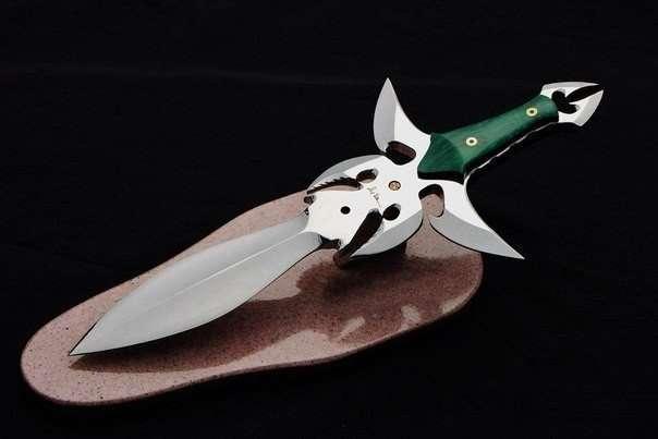 Уникальные ножи (9 фото)