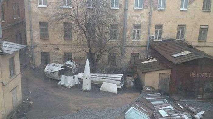 Фото, которые возможно было сделать только в России. (41 фото)