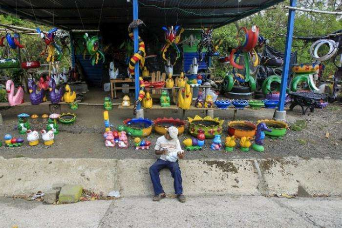 Вторая жизнь покрышек в Никарагуа (16 фото)
