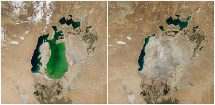 Как меняется наша планета на снимках НАСА  (16 фото)
