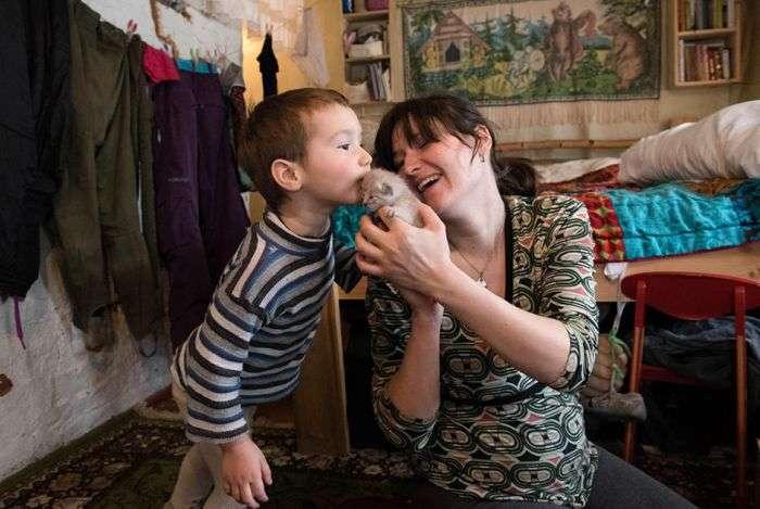 Жизнь российских дауншифтеров (21 фото)