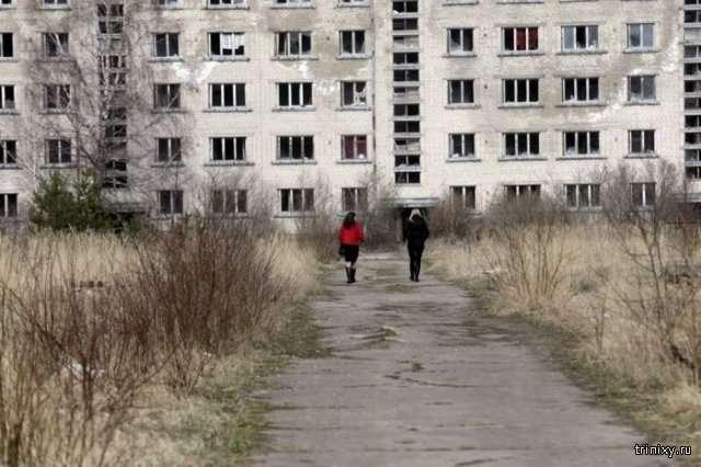Город-призрак в Латвии (19 фото)