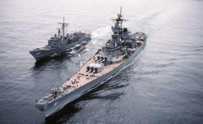 Боевые корабли мира (5 фото)