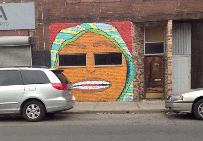 Уличные рисунки (32 фото)