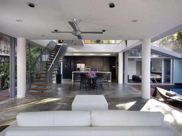Многоярусный жилой дом в Сингапуре (16 фото)