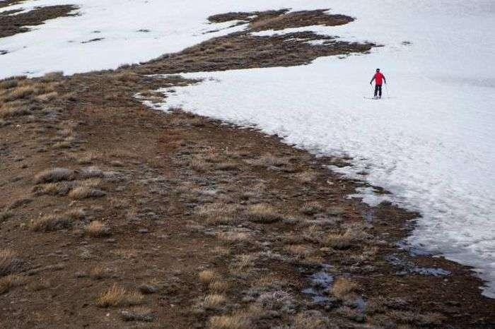 Последствия засухи в Калифорнии (21 фото)