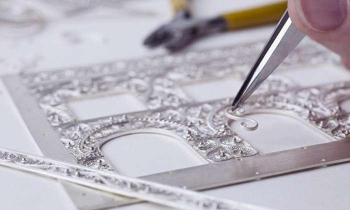 Скань – тончайшее кружево из металлических нитей (6 фото)