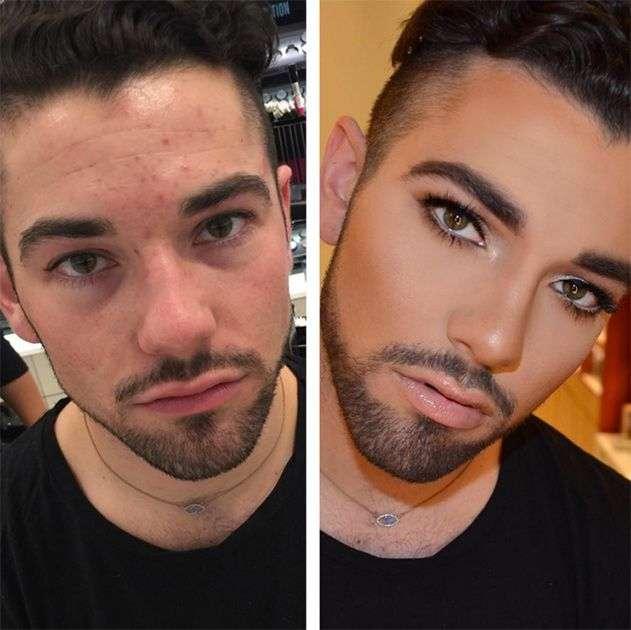 парень не разрешает краситься еще, если