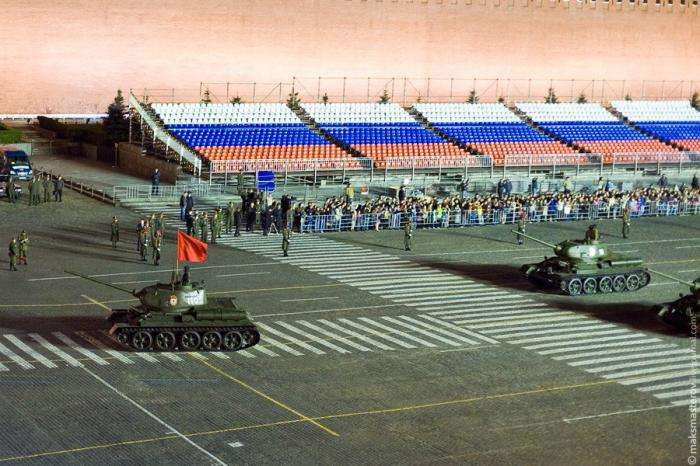 Репетиция Парада Победы (18 фото)