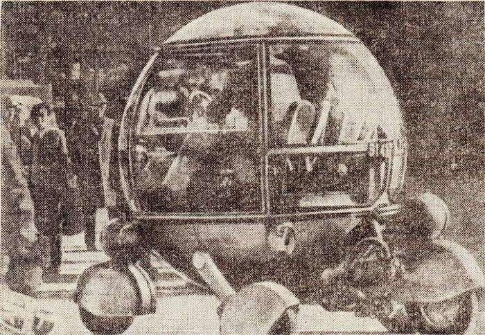 Шаромобиль (8 фото)