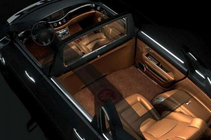 Китайский вариант машины для правителя (6 фото)