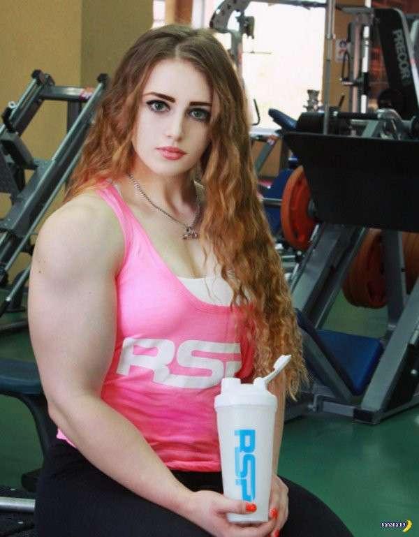 Юлия Винс, та самая 'Muscle Barbie'