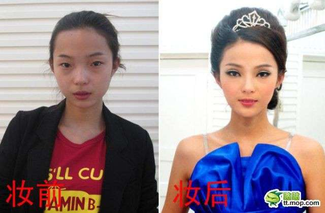 Китайские звезды без грима (10 фото)