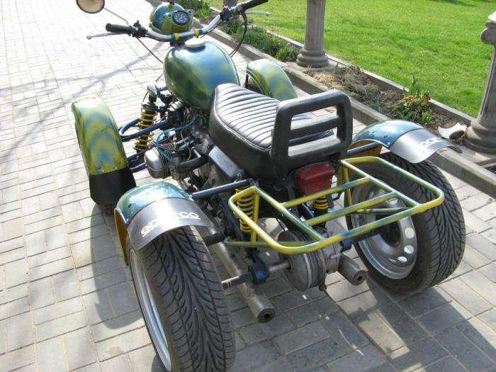 Суровый уральский квадроцикл (5 фото)