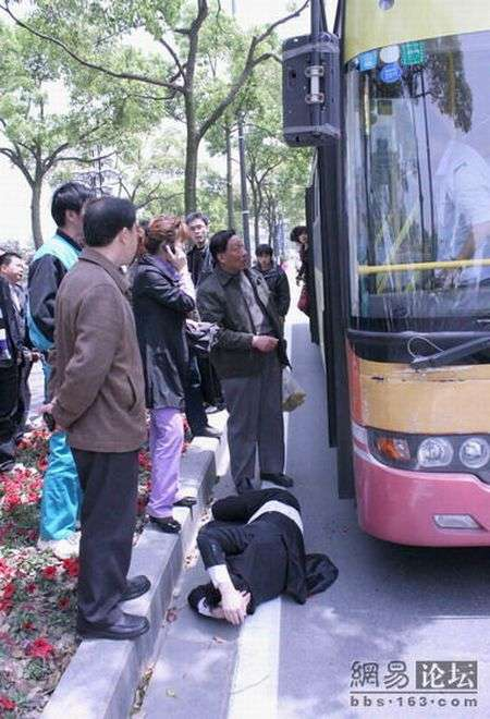 Разборки в Китае (4 фото)