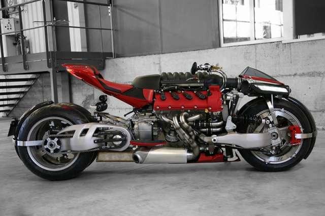Lazareth LM 847: маньяк из мира мотоциклов