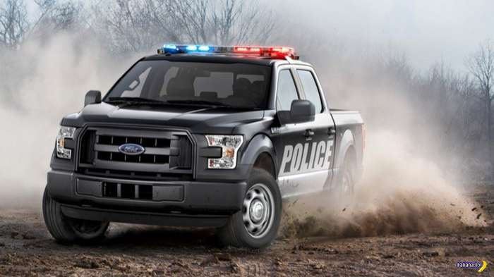 Ford показал F-150 Special Service