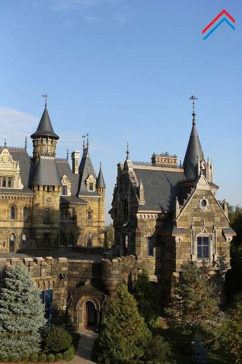 Замок Гарибальди в селе Хрящёвка Самарской области (39 фото)