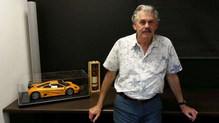 Концепт-кар Shell от создателя McLaren F1 (9 фото)