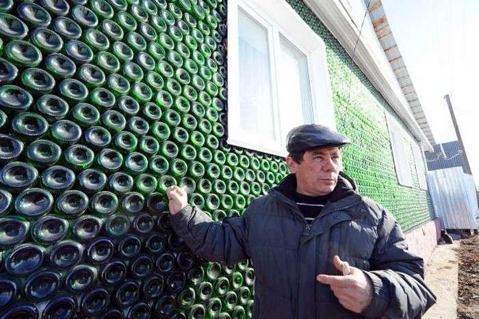 Пора переходить на бутылочное пиво - авось дом построю (6 фото)