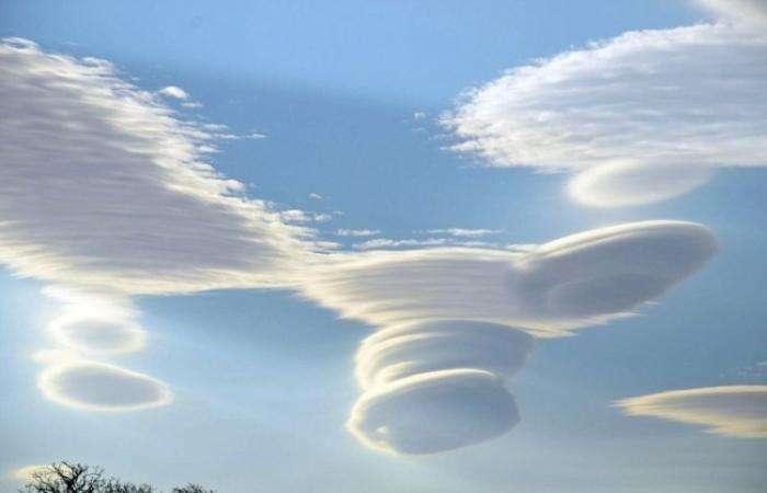 Дисковые облака (6 фото)